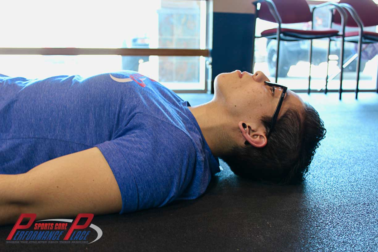 Activation of the Deep Neck Flexors of the Neck