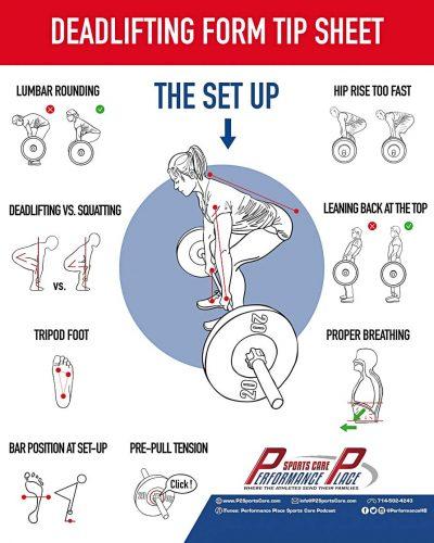 Deadlifting Tip Sheet
